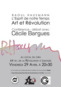 Raoul Hausman - conférence 29 avril 2016 (2)